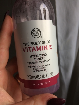 body shop vitamin e toner